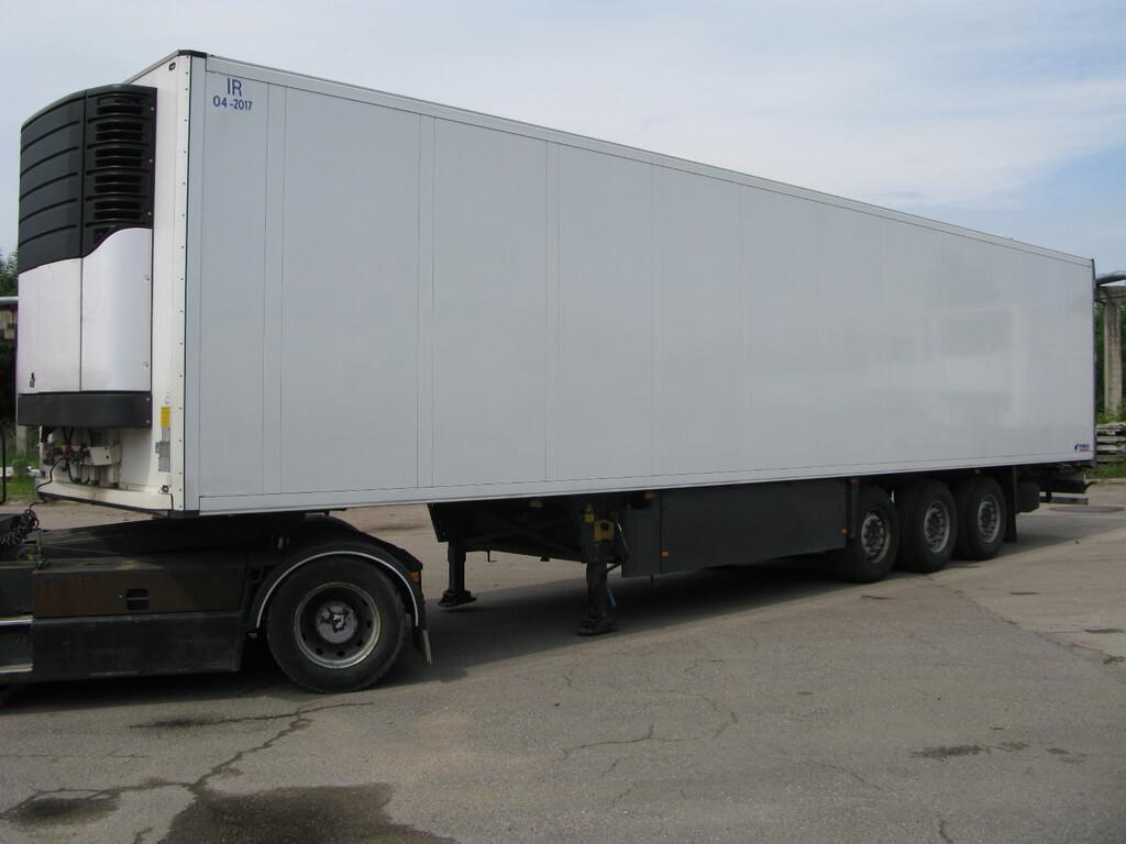 Фото перевозки грузов в рефрижераторе в СПб