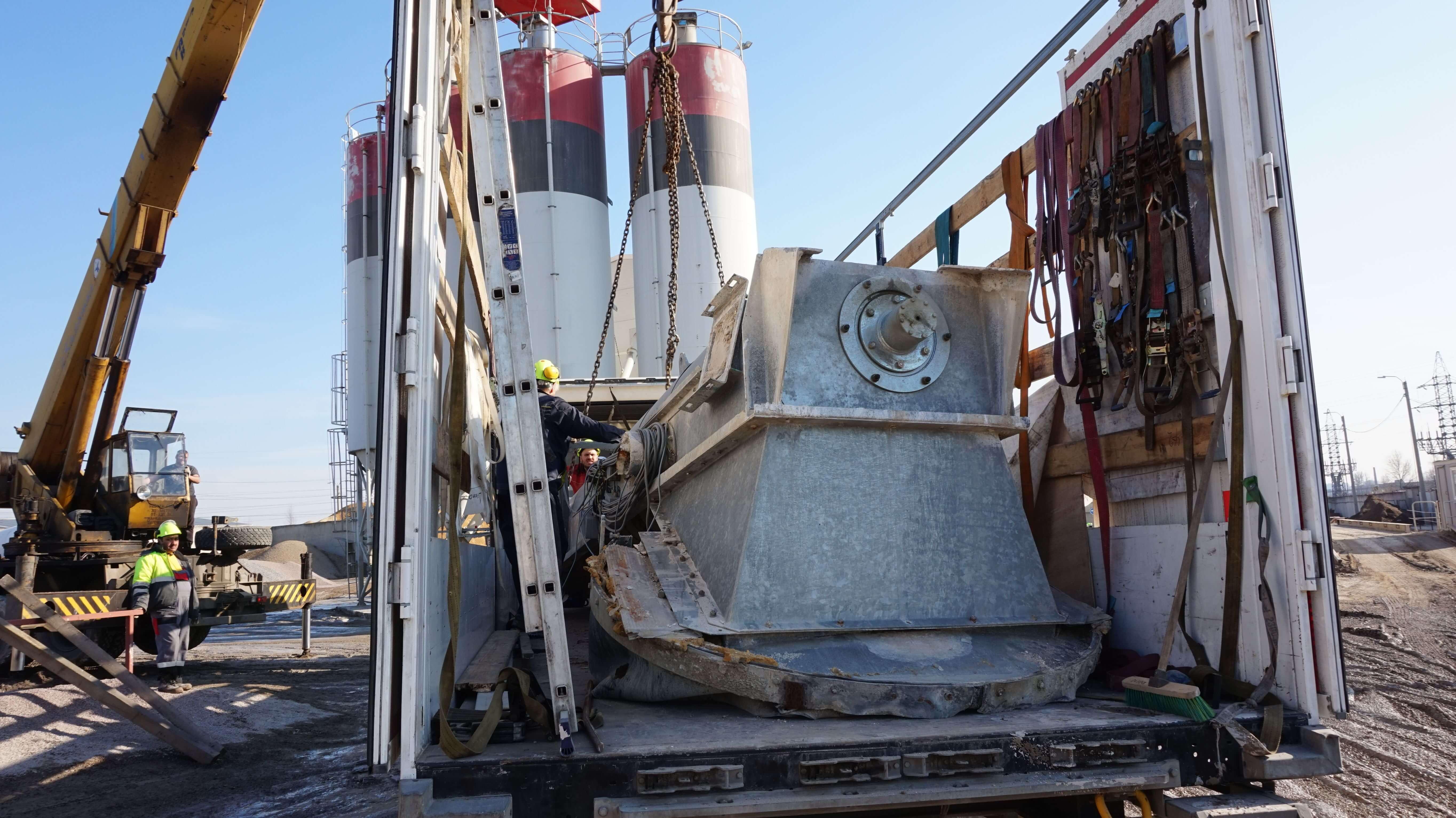 Перевозка рециклинга Liebherr LRS 606